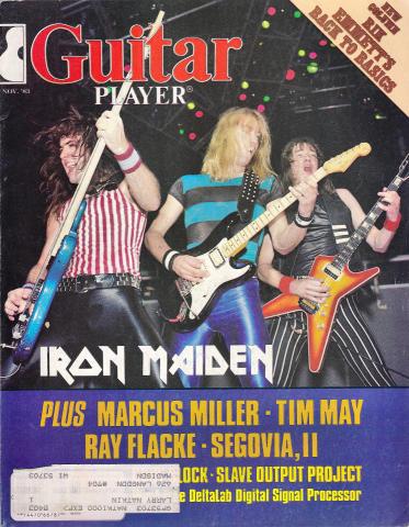 Guitar Player Magazine November 1983