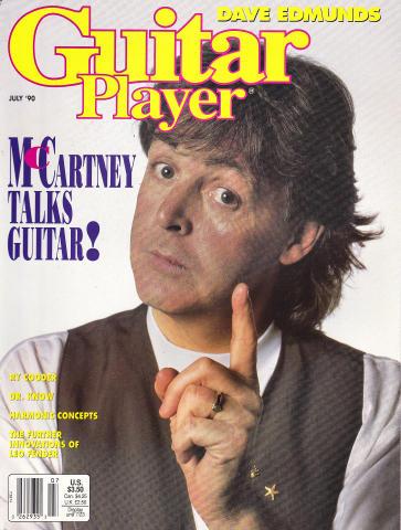 Guitar Player Magazine July 1990