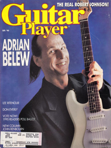 Guitar Player Magazine September 1990