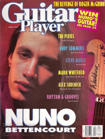 Guitar Player Magazine April 1991