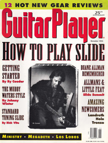 Guitar Player Magazine November 1992