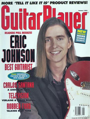 Guitar Player Magazine January 1993