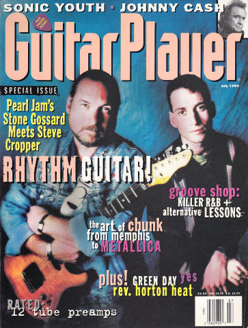 Guitar Player Magazine July 1994