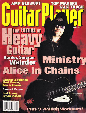 Guitar Player Magazine March 1996