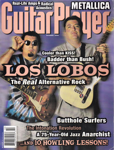 Guitar Player Magazine October 1996