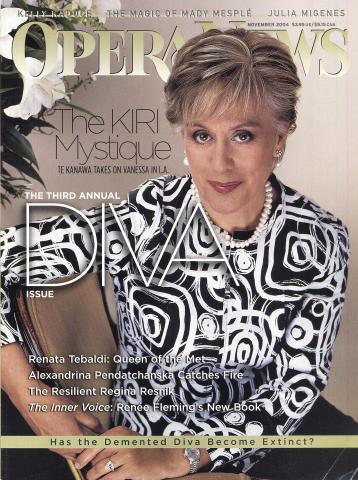 Opera News Magazine November 1, 2004