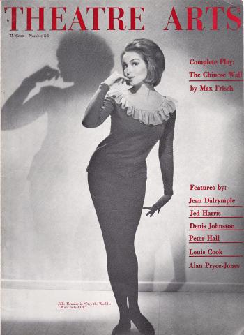 Theatre Arts Magazine August 1963