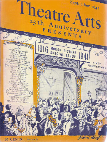 Theatre Arts Magazine September 1941