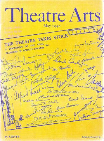 Theatre Arts Magazine May 1940