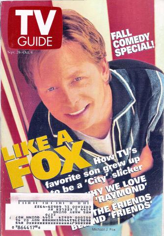 TV Guide September 28, 1996