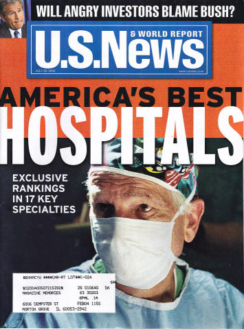 U.S. News & World Report July 22, 2002