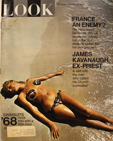 LOOK Magazine February 20, 1968