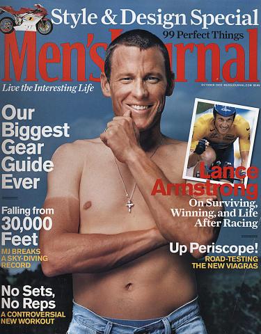 Men's Journal Magazine October 2003