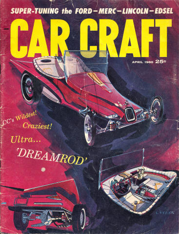 Car Craft Magazine April 1960