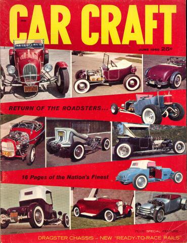 Car Craft Magazine June 1960