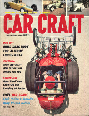 Car Craft Magazine September 1960