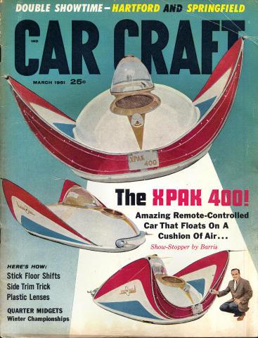 Car Craft Magazine March 1961