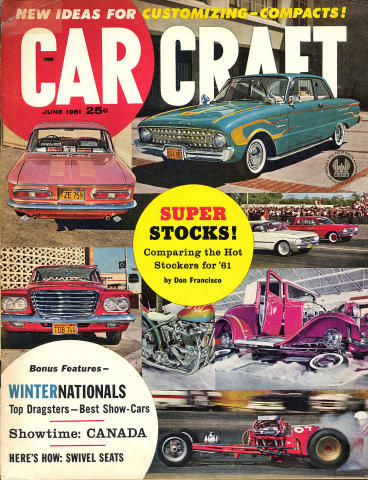 Car Craft Magazine June 1961