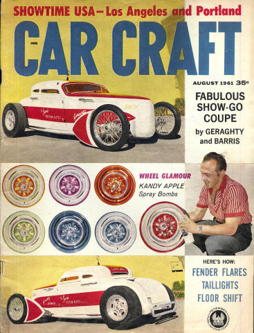Car Craft Magazine August 1961