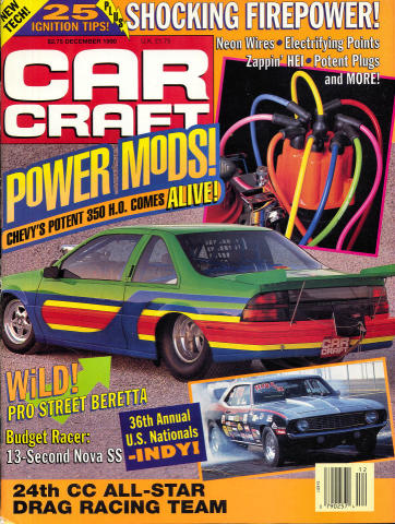 Car Craft Magazine December 1990 at Wolfgang's