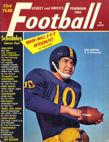 Street & Smith's Football Yearbook 1963