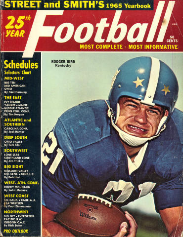 Street & Smith's Football Yearbook 1965