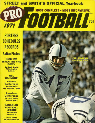 Street and Smith's Pro Football Yearbook 1971