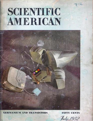 Scientific American Magazine July 1952