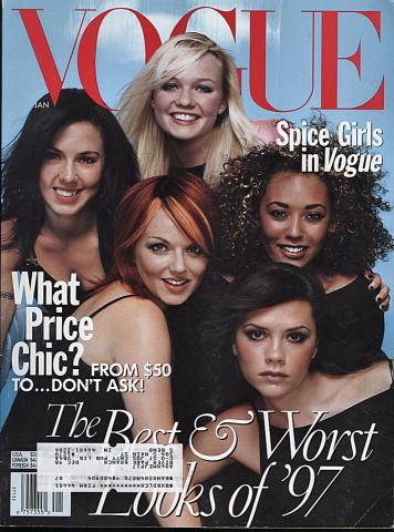 Vogue Magazine January 1998