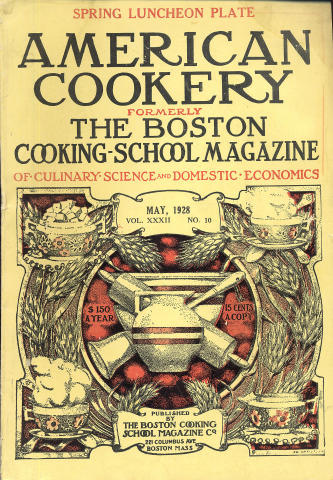 American Cookery Magazine May 1928