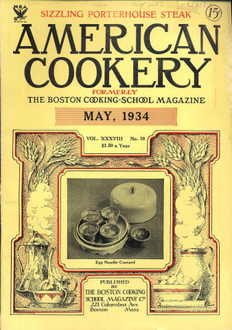 American Cookery Magazine May 1934