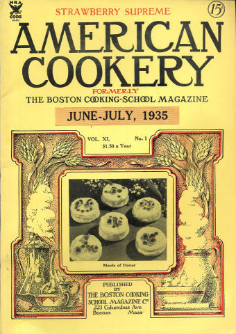 American Cookery Magazine June 1935