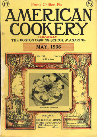 American Cookery Magazine May 1936