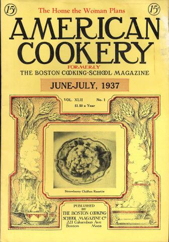 American Cookery Magazine June 1937