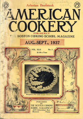 American Cookery Magazine August 1937