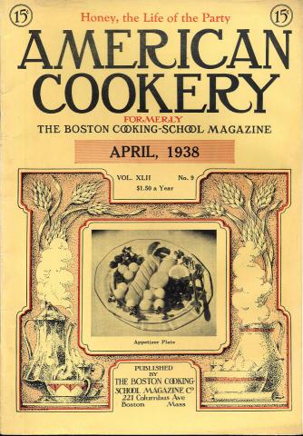 American Cookery Magazine April 1938