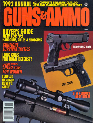 Guns & Ammo 1992 Annual Issue