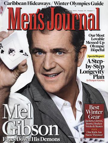 Men's Journal Magazine February 2010