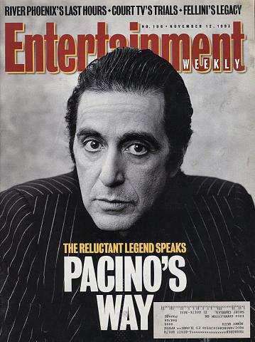 Entertainment Weekly November 12, 1993