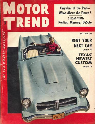 Motor Trend Magazine May 1954
