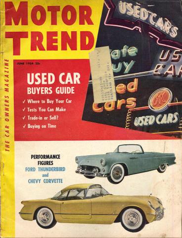 Motor Trend Magazine June 1954