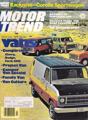 Motor Trend Magazine July 1976