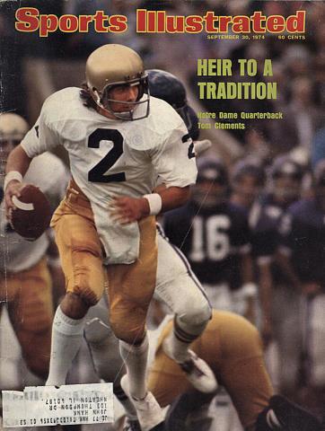 Sports Illustrated September 30, 1974
