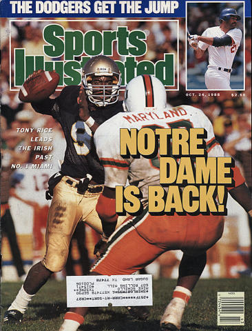 Sports Illustrated October 24, 1988
