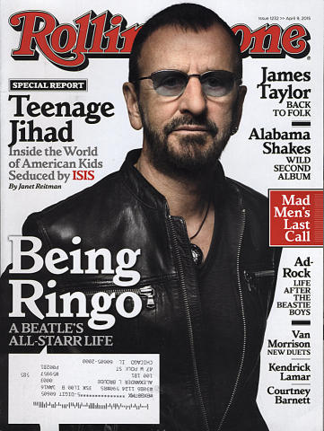 Rolling Stone Magazine April 9, 2015