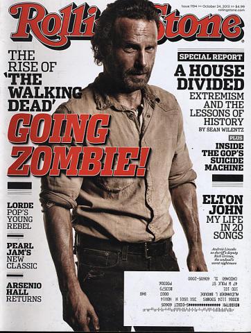 Rolling Stone Magazine October 24, 2013