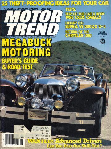 Motor Trend Magazine June 1979