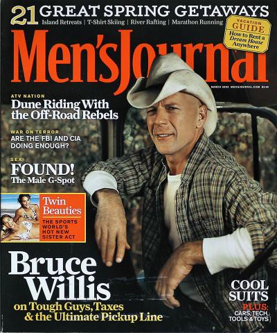 Men's Journal Magazine March 2003