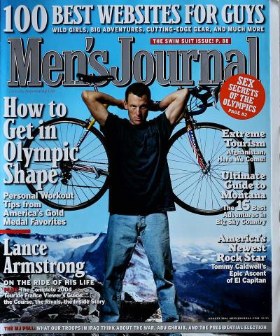 Men's Journal Magazine August 2004