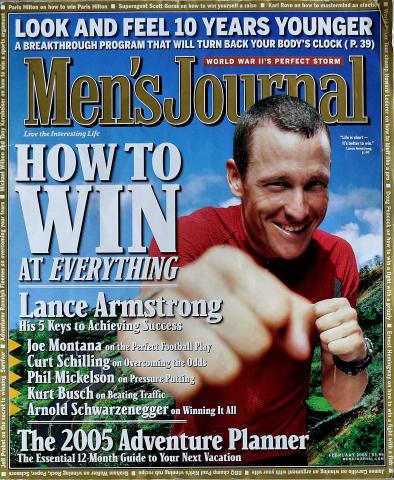 Men's Journal Magazine February 2005